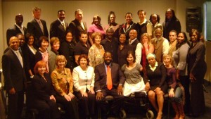 Gloria Ramirez with Les Brown's Platinum Group